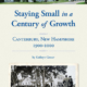 Staying Small in a Century of Growth: Canterbury NH 1900-2000